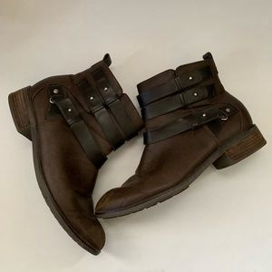 Dolce Vita Anthropologie ankle boots